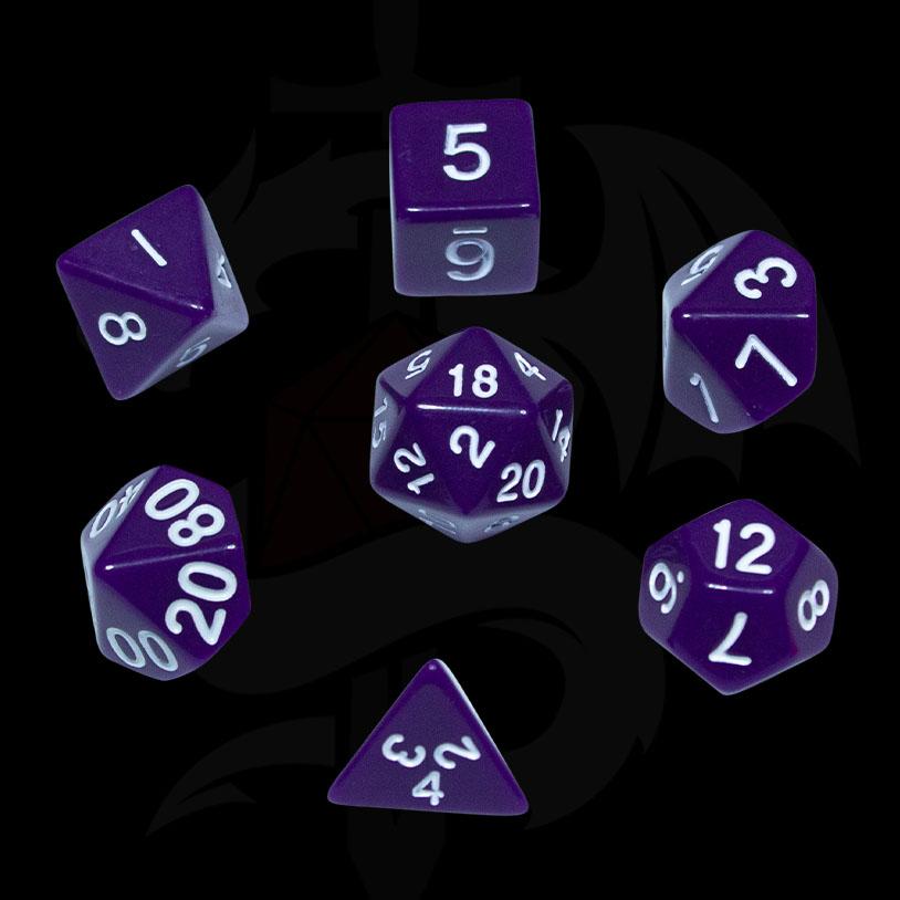 Purple Original DND Dice